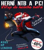 Nejlepší vánoční dárek? Herní NTB NEBO PC!
