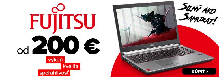 Fujitsu notebooky