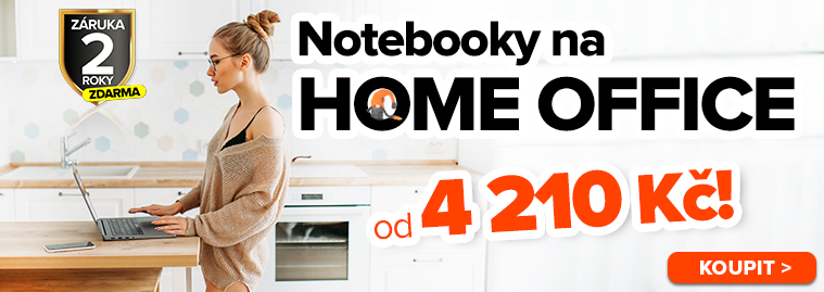 notebooky na home office